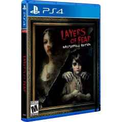 LAYERS OF FEAR PS4 US NEW