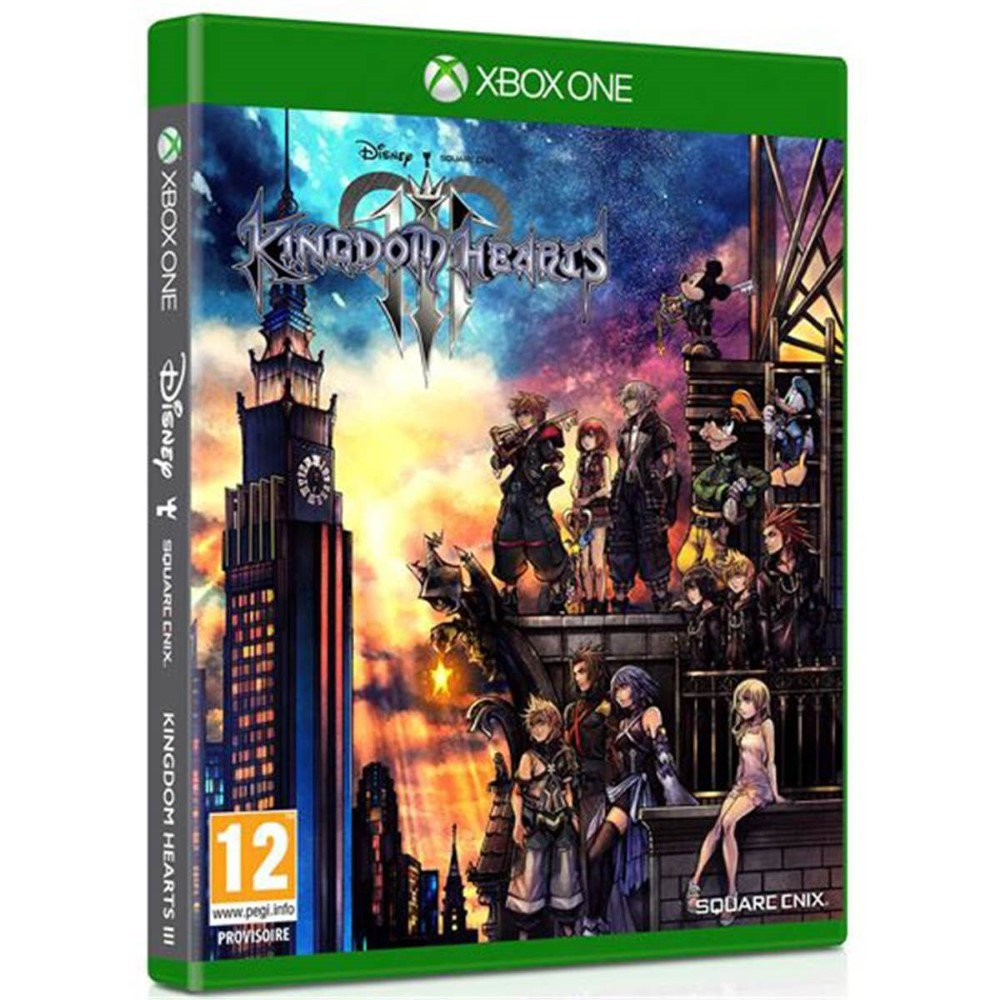 KINGDO HEARTS 3 XBOX ONE EURO FR OCCASION