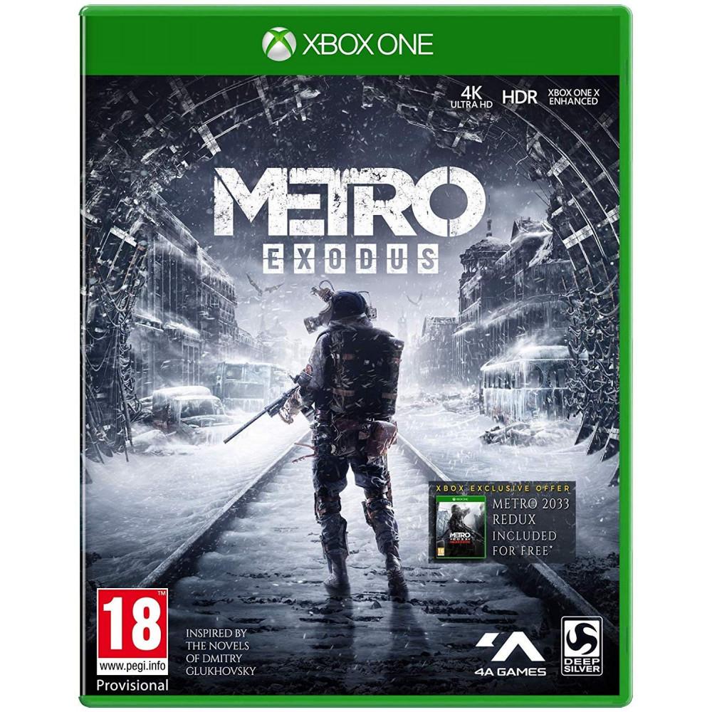 METRO EXODUS XBOX ONE UK NEW