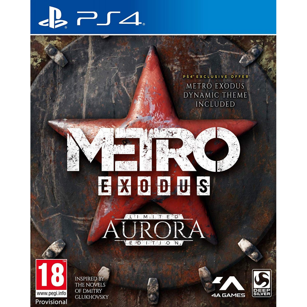 METRO EXODUS AURORA EDITION PS4 UK NEW