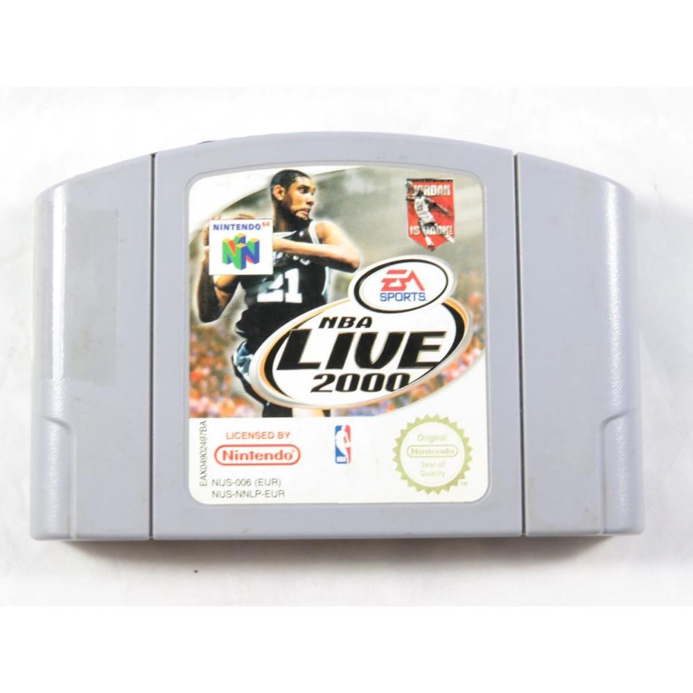 NBA LIVE 2000 N64 PAL-EUR LOOSE
