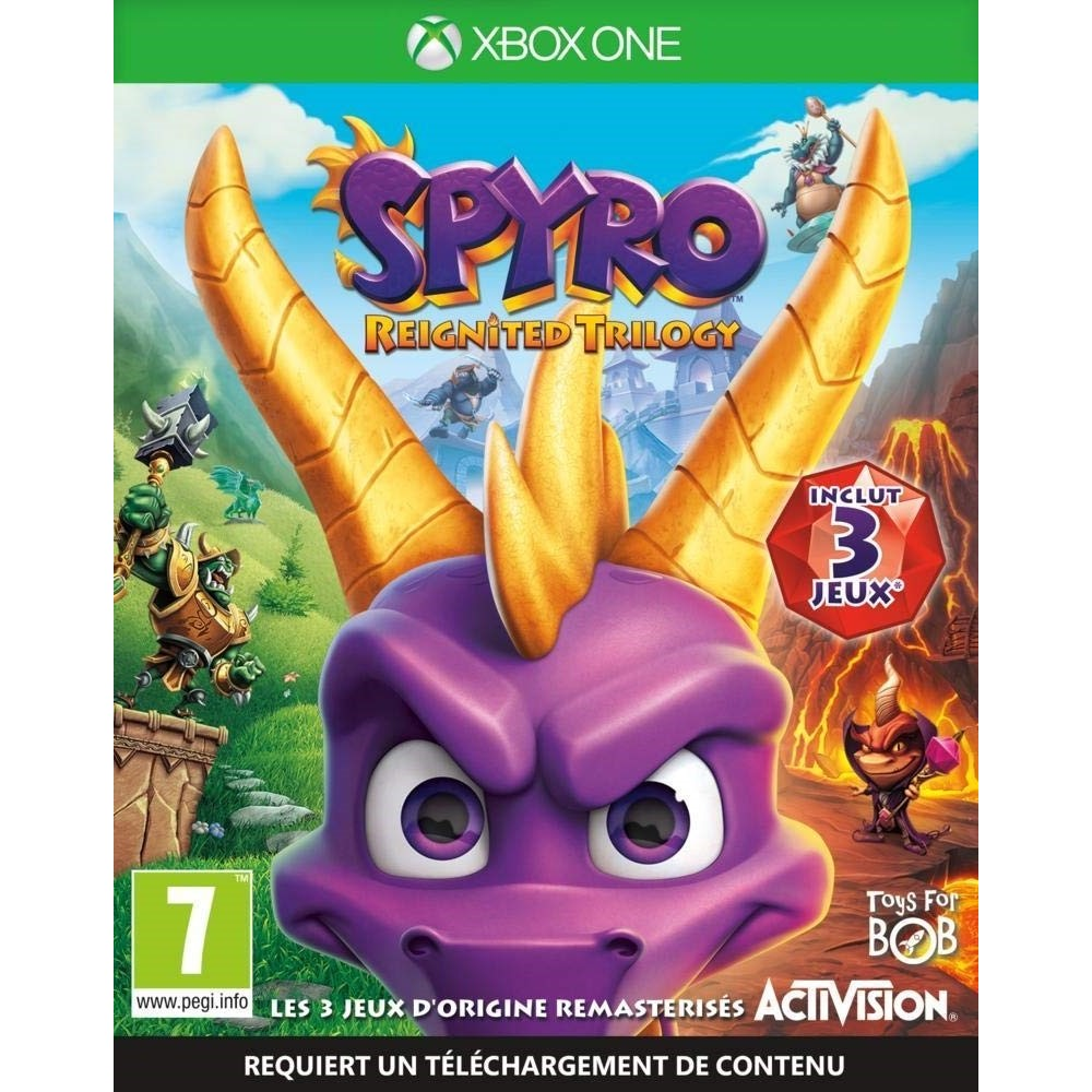 SPYRO REIGNITED TRILOGY XBOX ONE FR NEW