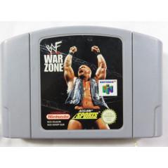 WWF WAR ZONE N64 PAL-EUR LOOSE