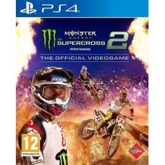 MONSTER ENERGY SUPERCROSS 2 PS4 FR OCCASION