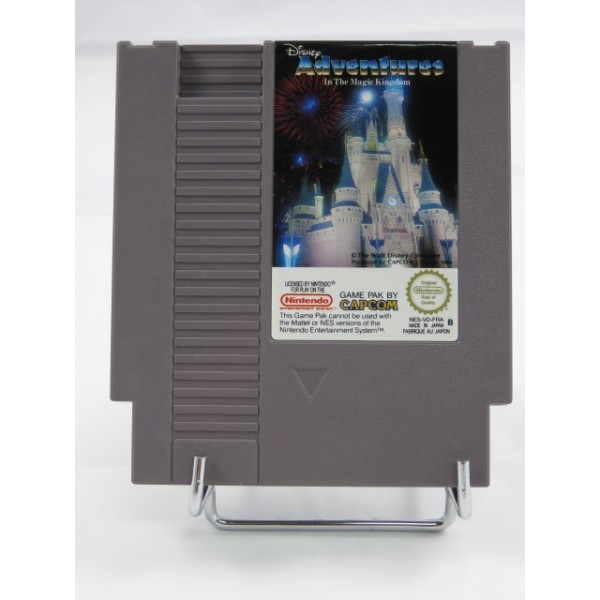 DISNEY ADVENTURES IN THE MAGIC KINGDOM NINTENDO NES PAL-B FRA (CARTRIDGE ONLY - GOOD CONDITION)