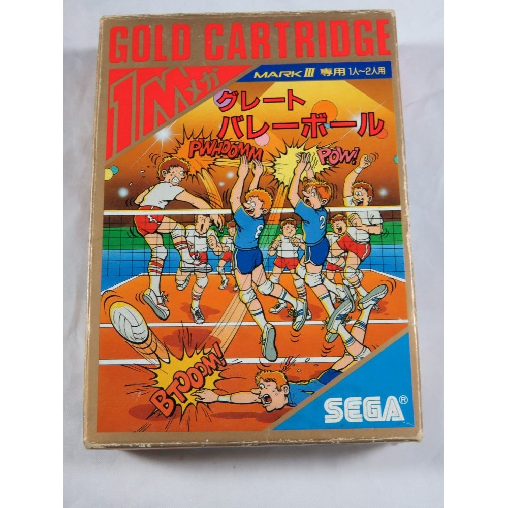 GREAT VOLLEY BALL SEGA MARK III NTSC-JPN OCCASION