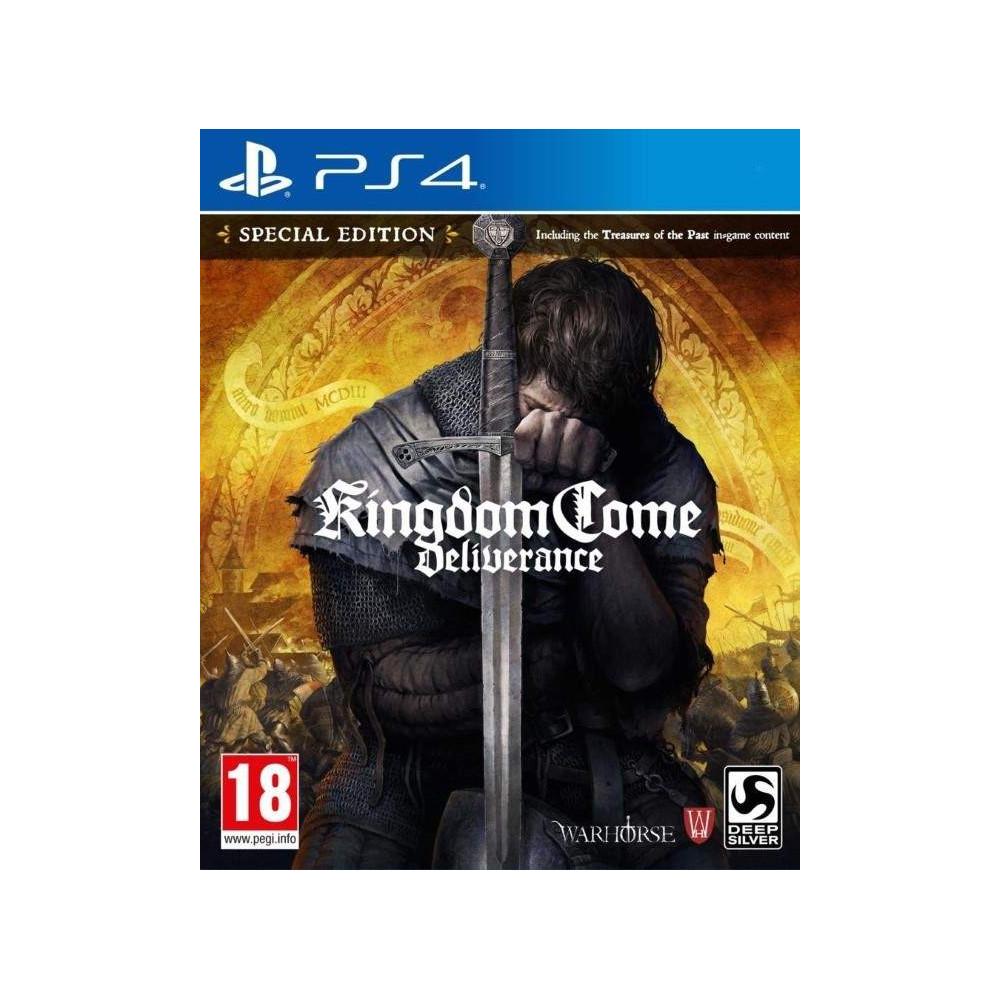 KINGDOM COME DELIVRANCE PS4 UK OCCASION