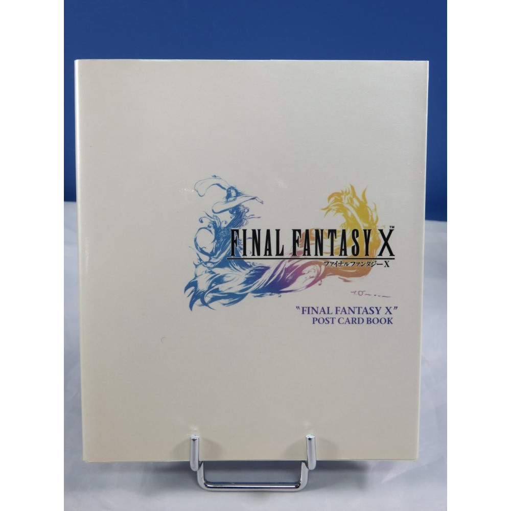 FINAL FANTASY X POST CARD BOOK JPN OCCASION