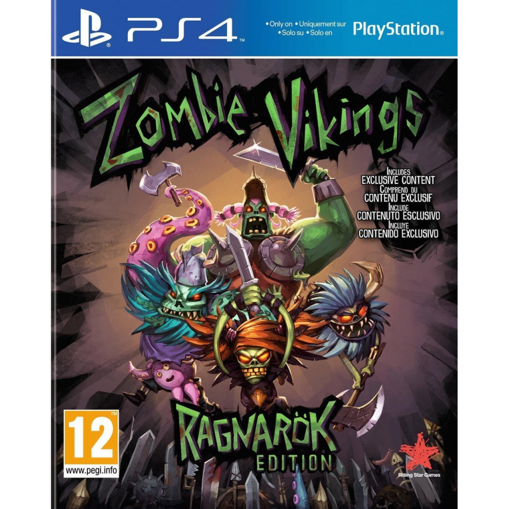 ZOMBIE VIKINGS PS4 VF