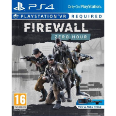 FIREWALL ZERO VR PS4 EURO FR NEW