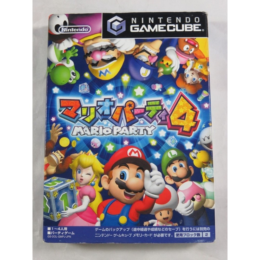 MARIO PARTY 4 GAMECUBE NTSC-JPN OCCASION