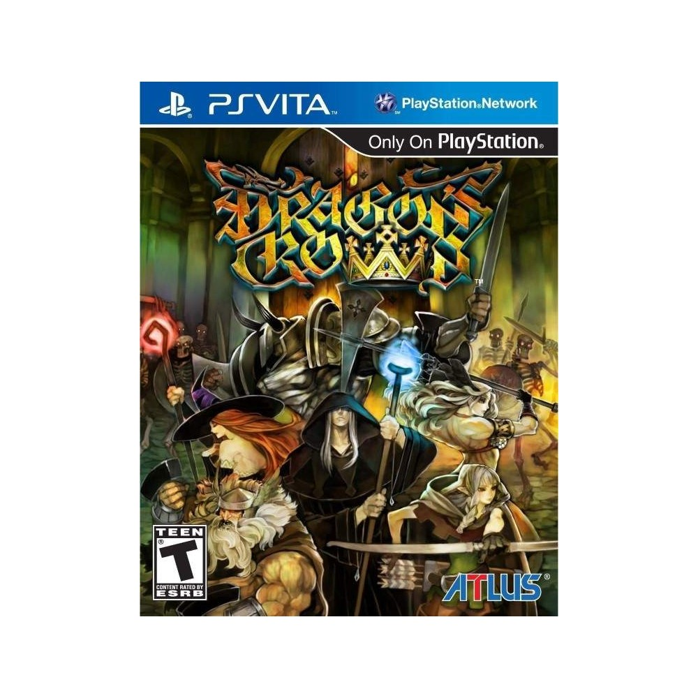 DRAGON S CROWN PSVITA US NEW