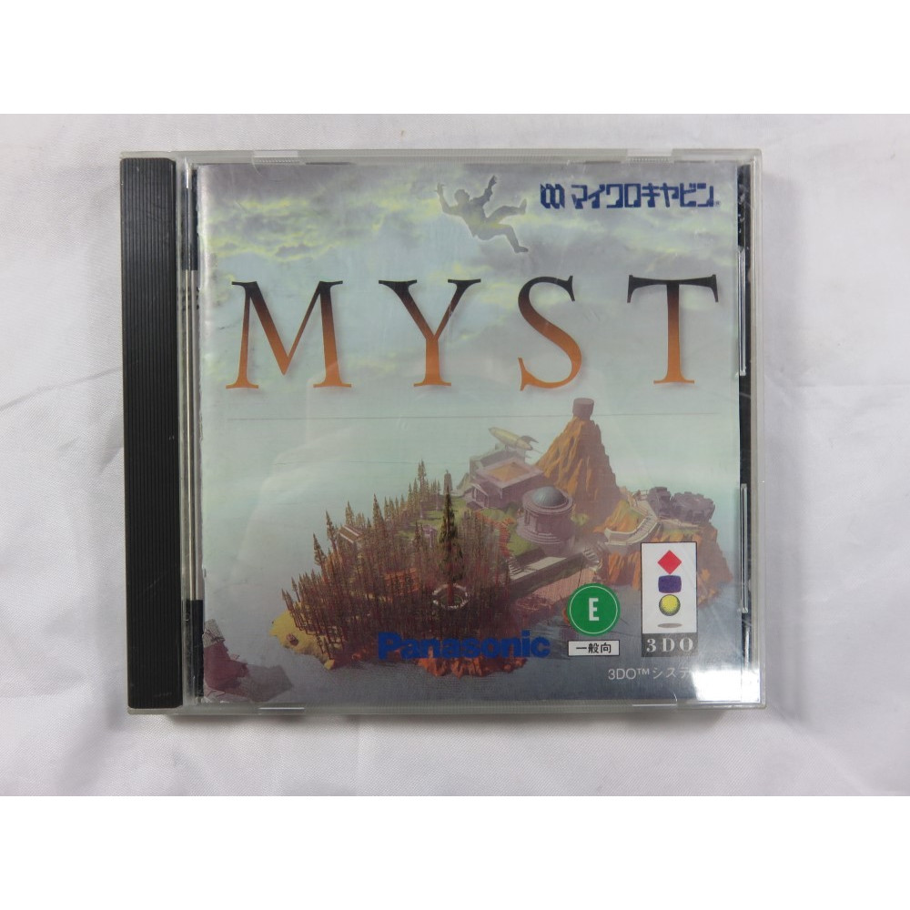MYST 3DO NTSC-JPN OCCASION (ETAT B)