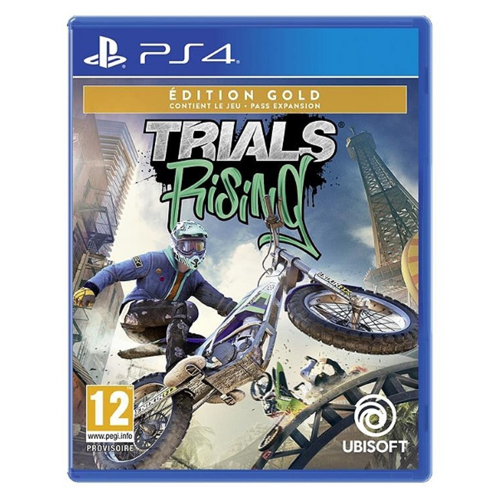 TRIALS RISING GOLD PS4 FR NEW