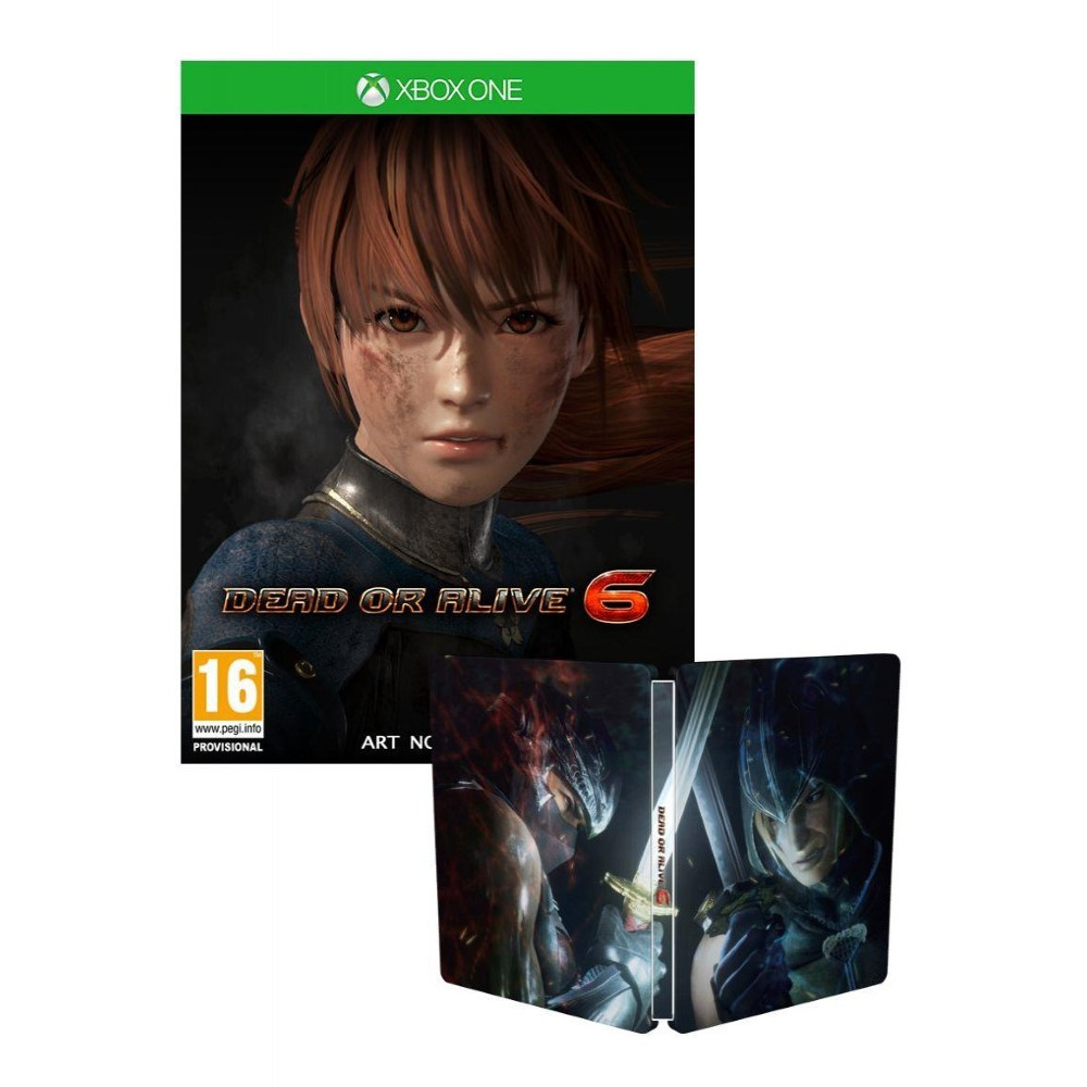 DEAD OR ALIVE 6 STEELBOOK XBOX ONE UK NEW