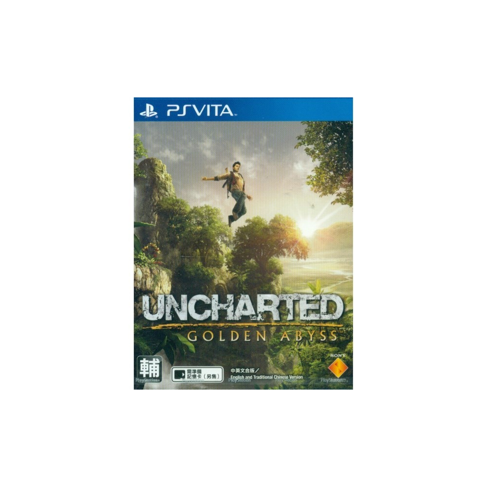 UNCHARTED GOLDEN ABYSS PSVITA ASIAN OCCASION