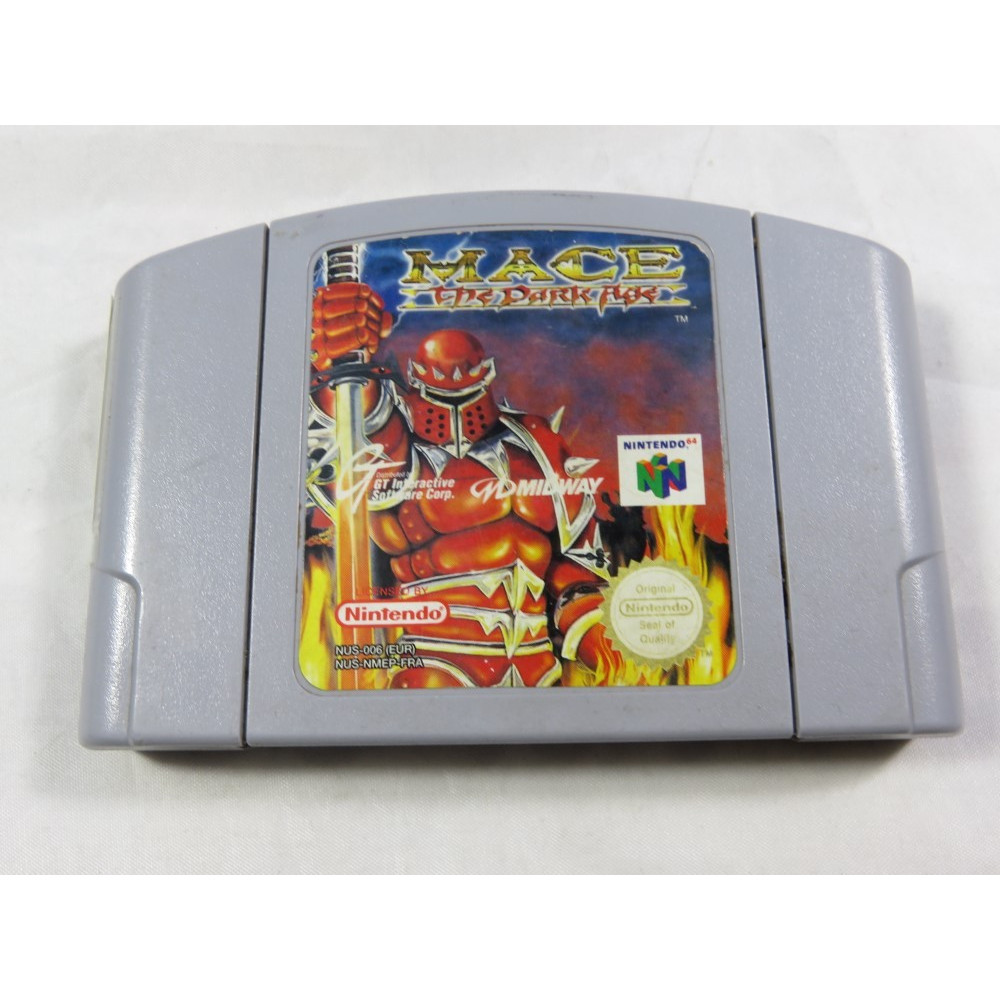 MACE THE DARK AGE N64 PAL-FRA LOOSE