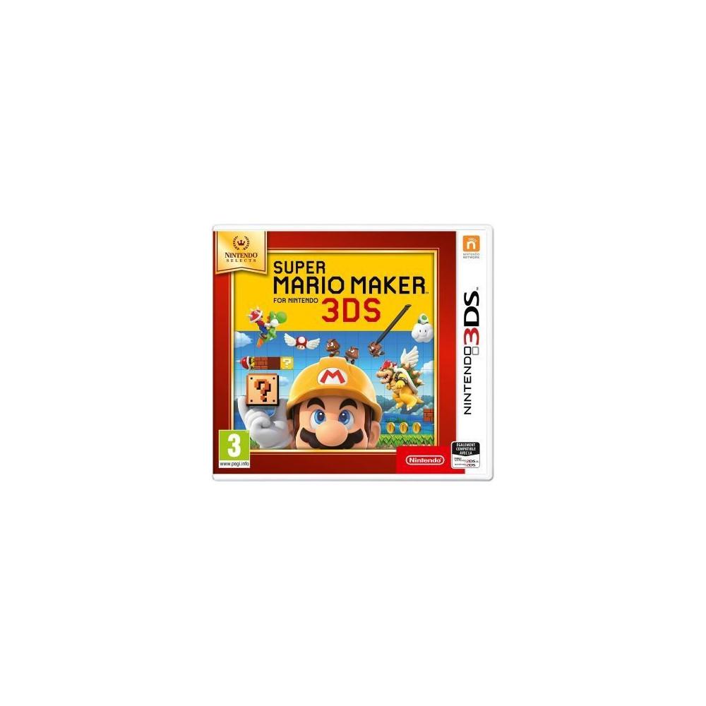 SUPER MARIO MAKER NINTENDO SELECTS 3DS UK NEW