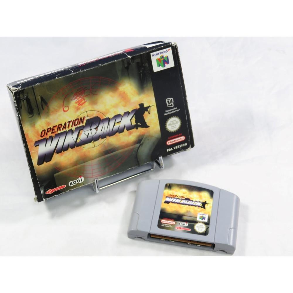OPERATION WINBACK N64 PAL-EUR (SANS NOTICE)