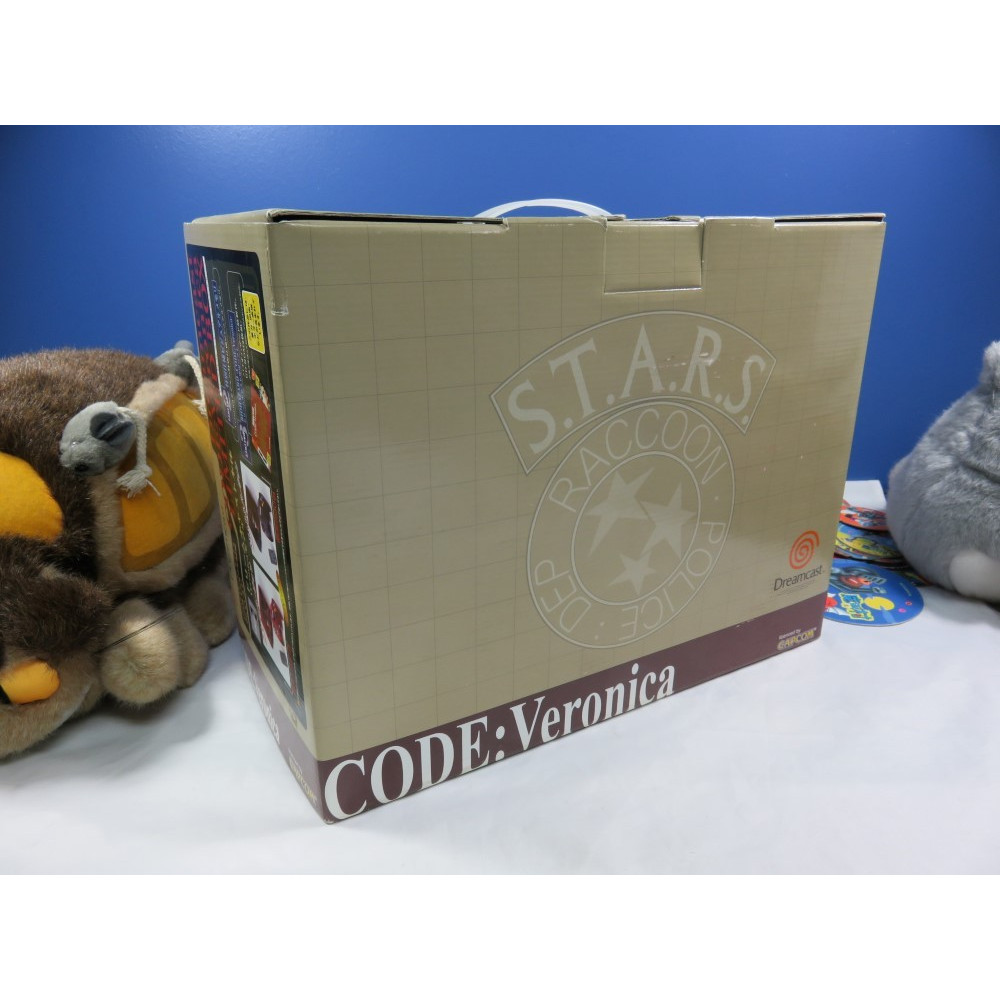 CONSOLE DREAMCAST BIOHAZARD CODE: VERONICA CHRIS S.T.A.R.S. BLUE 200EX. NTSC-JPN NEW
