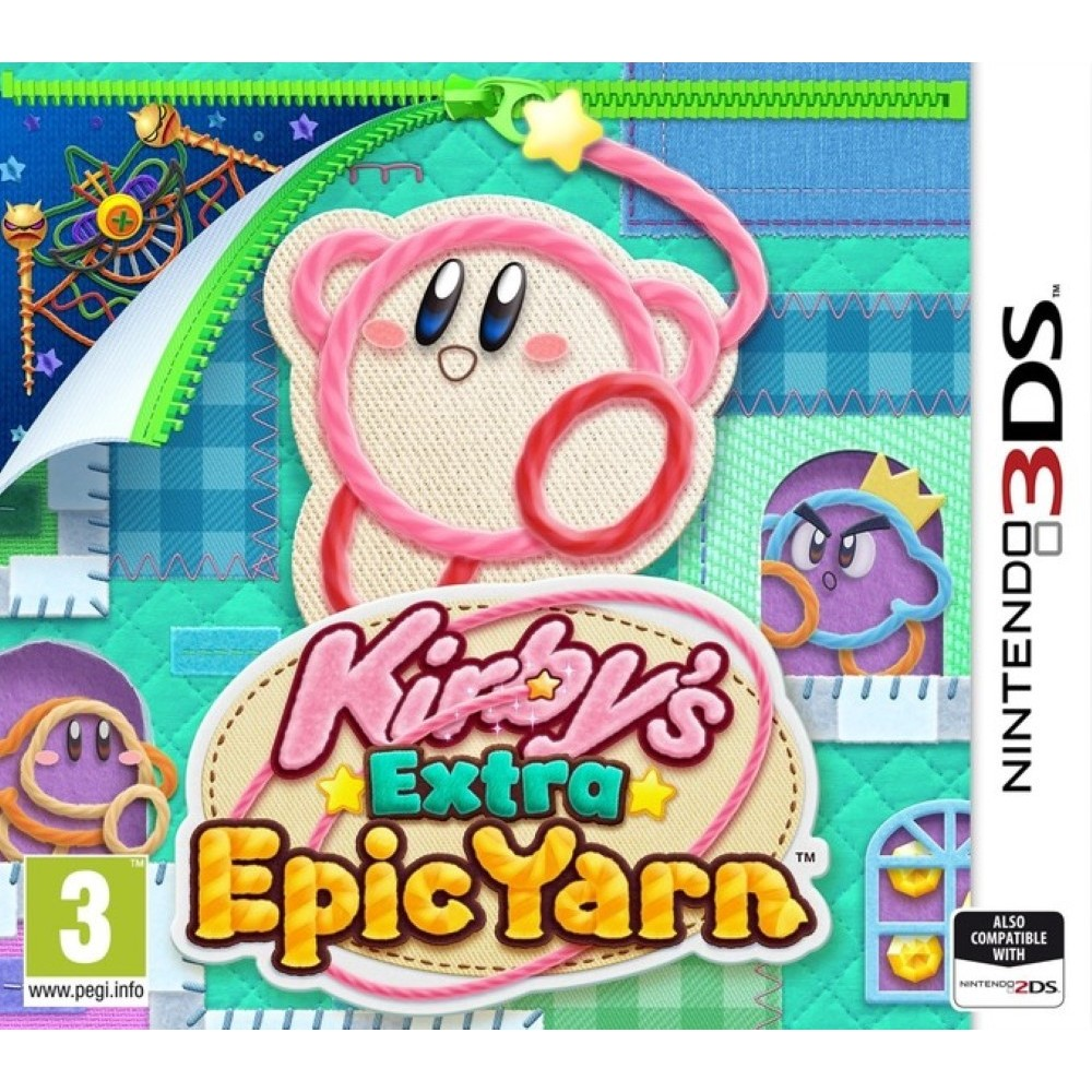 KIRBY EXTRA EPIC YARN 3DS UK NEW