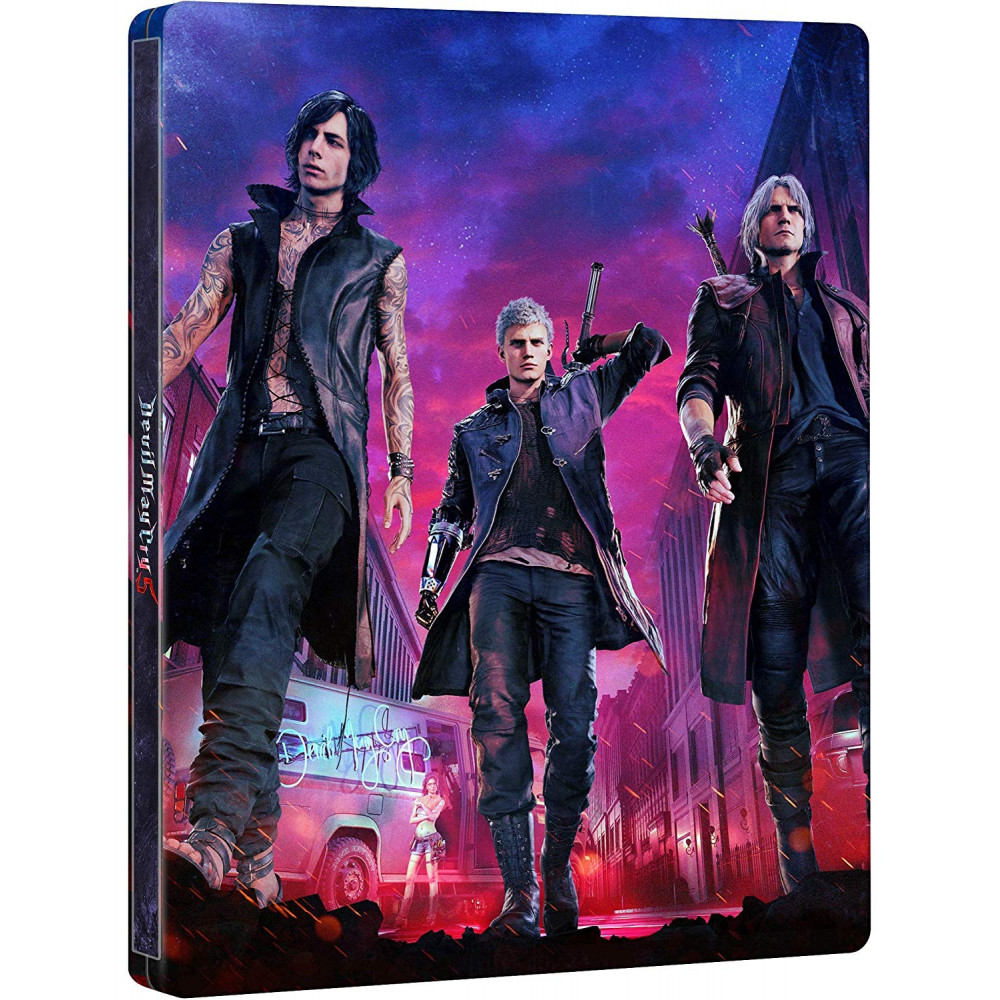 DEVIL MAY CRY 5 DELUXE EDITION PS4 FR NEW