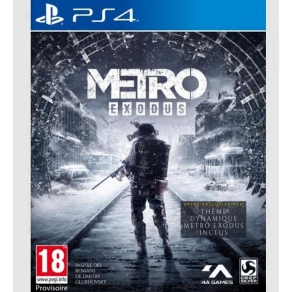 METRO EXODUS PS4 EURO/FR NEW