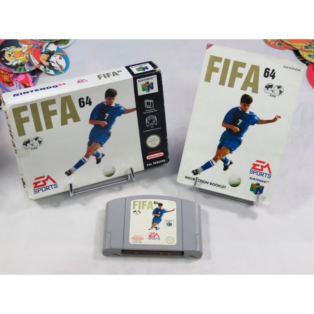 FIFA 64 N64 PAL EURO OCCASION
