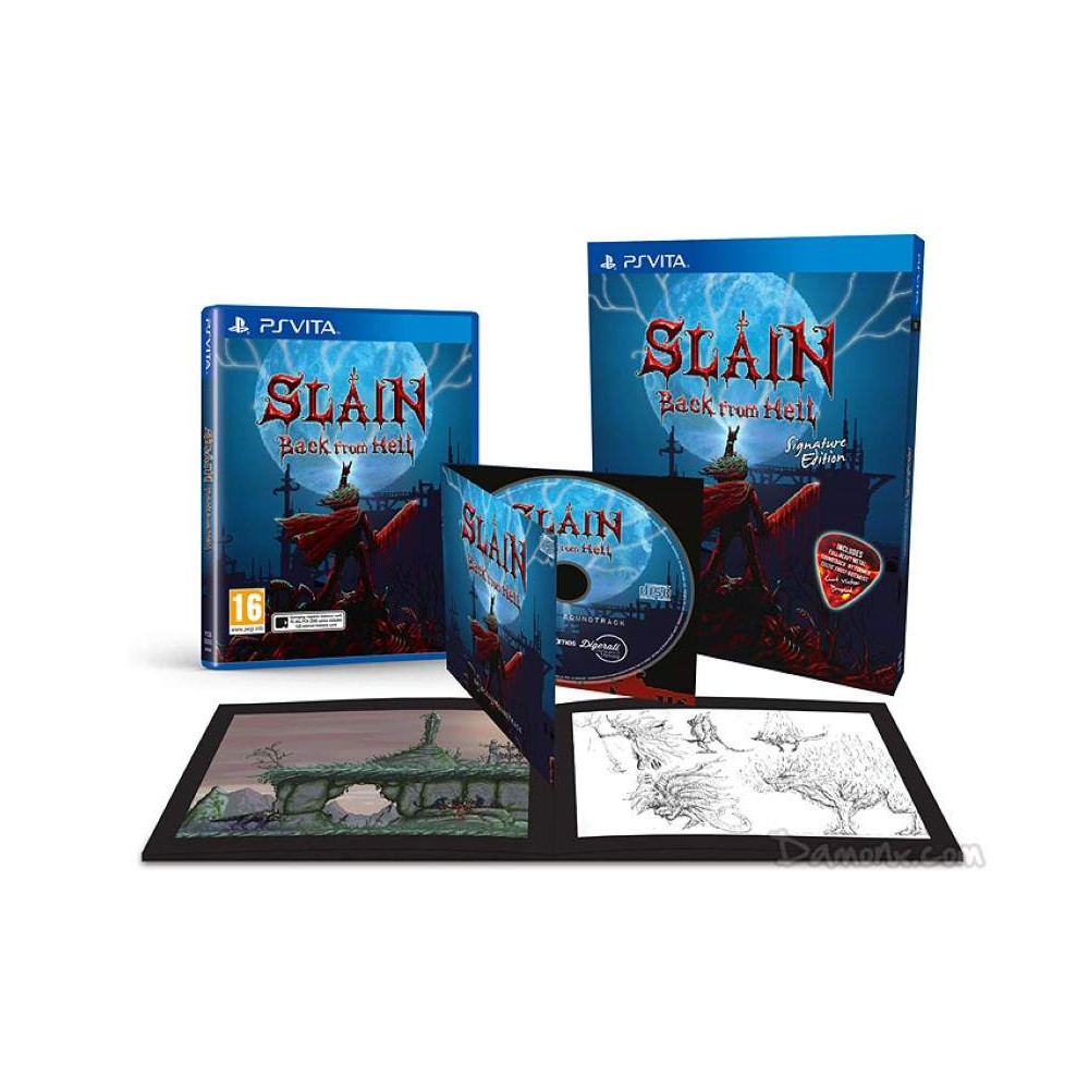 SLAIN BACK FROM HELL SIGNATURE EDITION PSVITA UK OCCASION