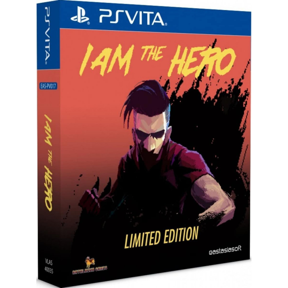 IAM THE HERO LIMITED EDITION PSVITA ASIAN AVEC TEXTE EN ANGLAIS NEW