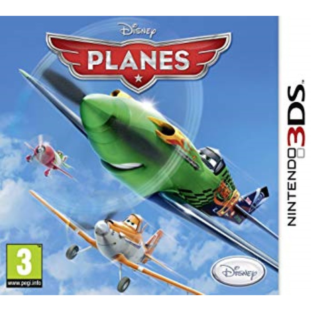 PLANES 3DS EURO FR NEW