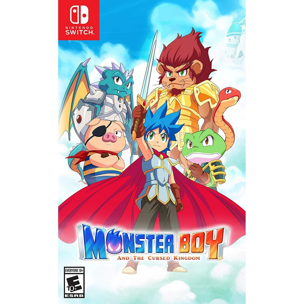 MONSTER BOY AND THE CURSED KINGDOM SWITCH US OCCASION
