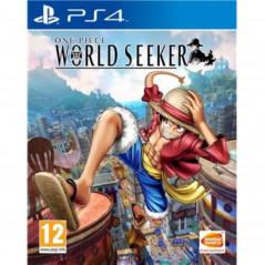 ONE PIECE WORLD SEEKER PS4 PAL FR NEW