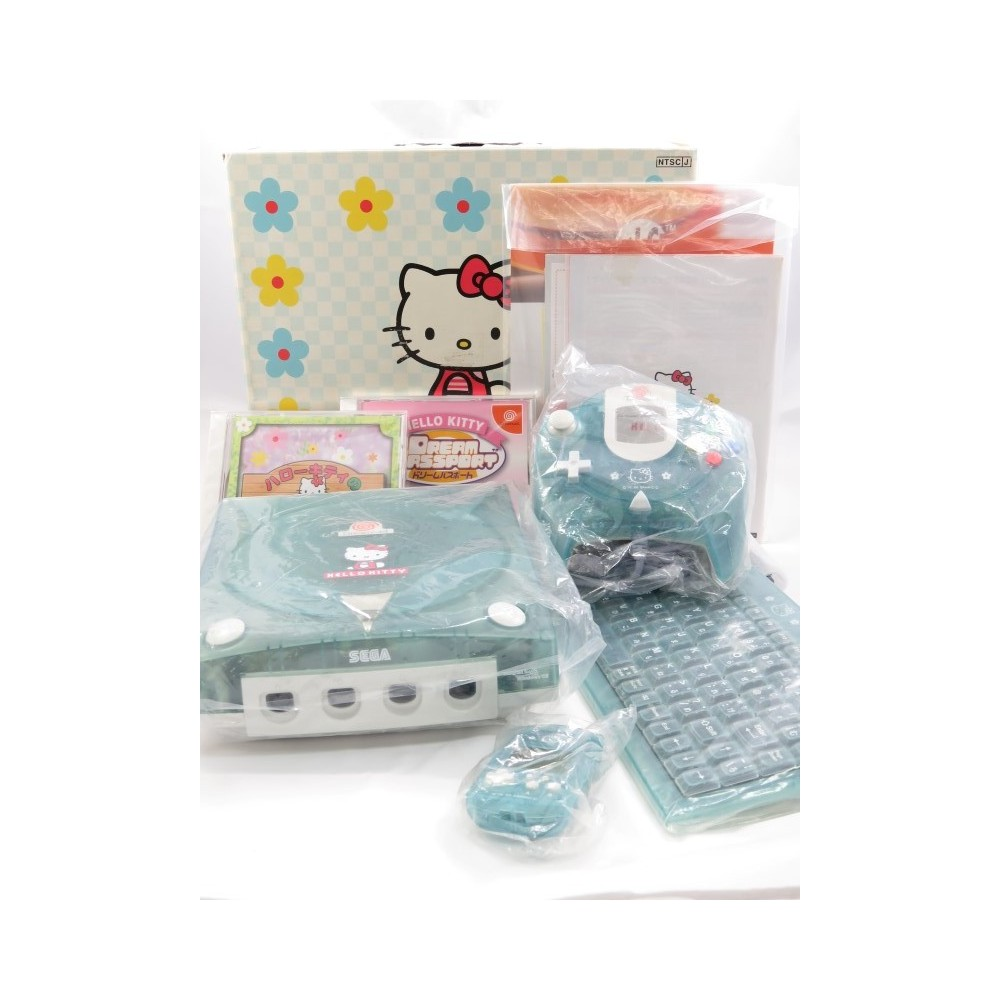 CONSOLE DREAMCAST HELLO KITTY BLUE NTSC-JPN (COMPLETE)