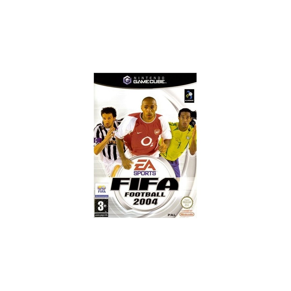FIFA FOOTBALL 2004 GAMECUBE PAL-FRA OCCASION