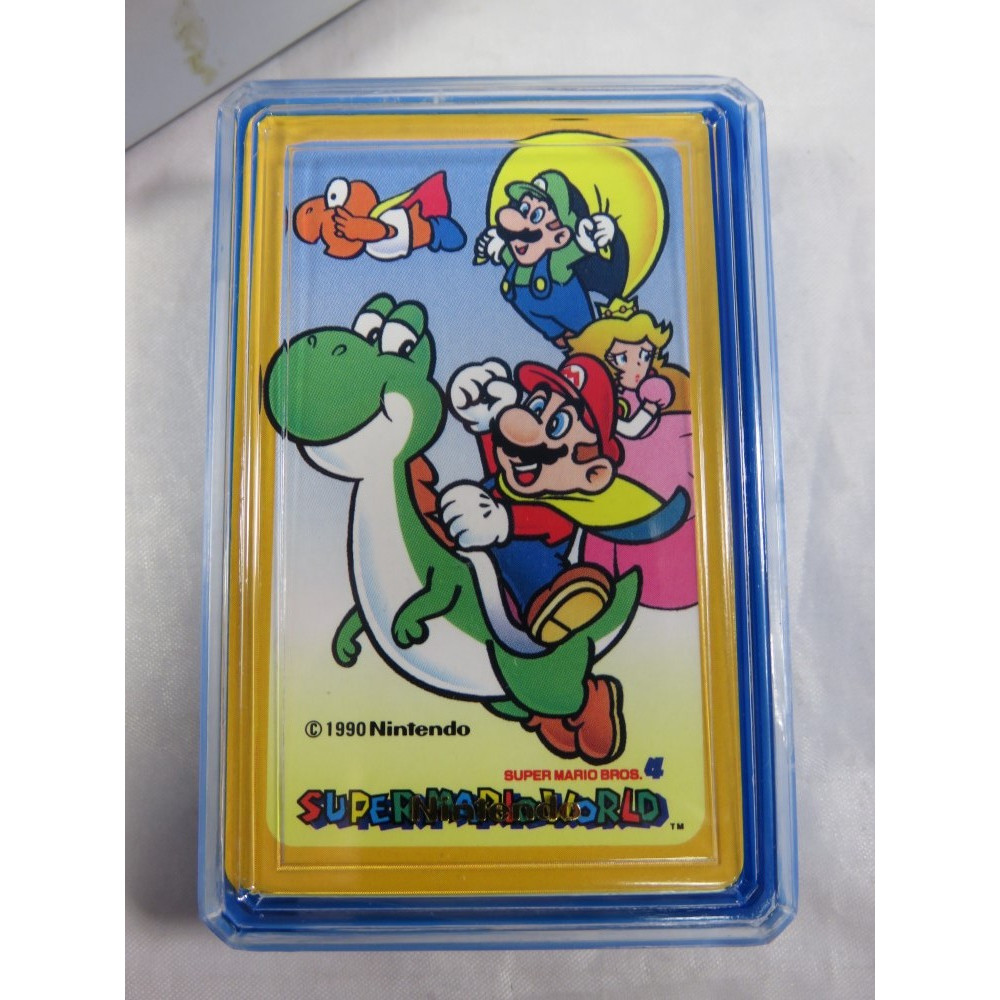 SUPER MARIO WORLD MINI TRUMP (JEU DE CARTES NEUF) JPN NINTENDO 1990 (MW504)