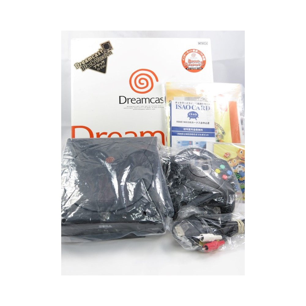 CONSOLE DREAMCAST D-DIRECT BLACK LIMITED NTSC-JPN (COMPLETE)