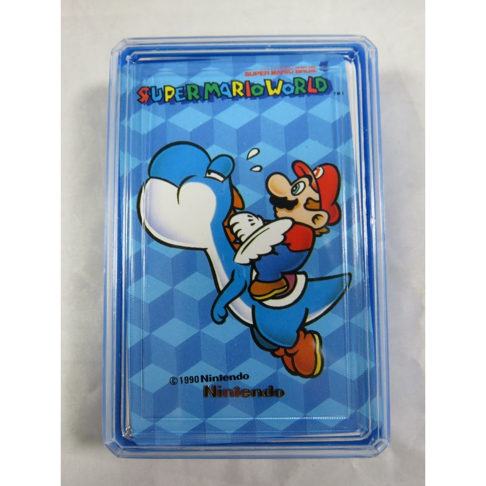 SUPER MARIO WORLD MINI TRUMP (JEU DE CARTES NEUF) JPN NINTENDO 1990 (MW505)