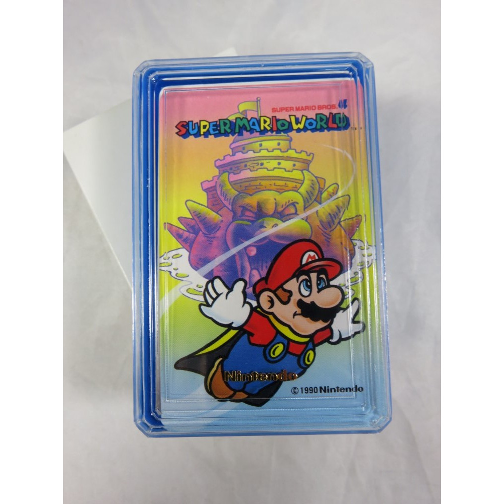 SUPER MARIO WORLD MINI TRUMP (JEU DE CARTES NEUF) JPN NINTENDO 1990 (MW502)