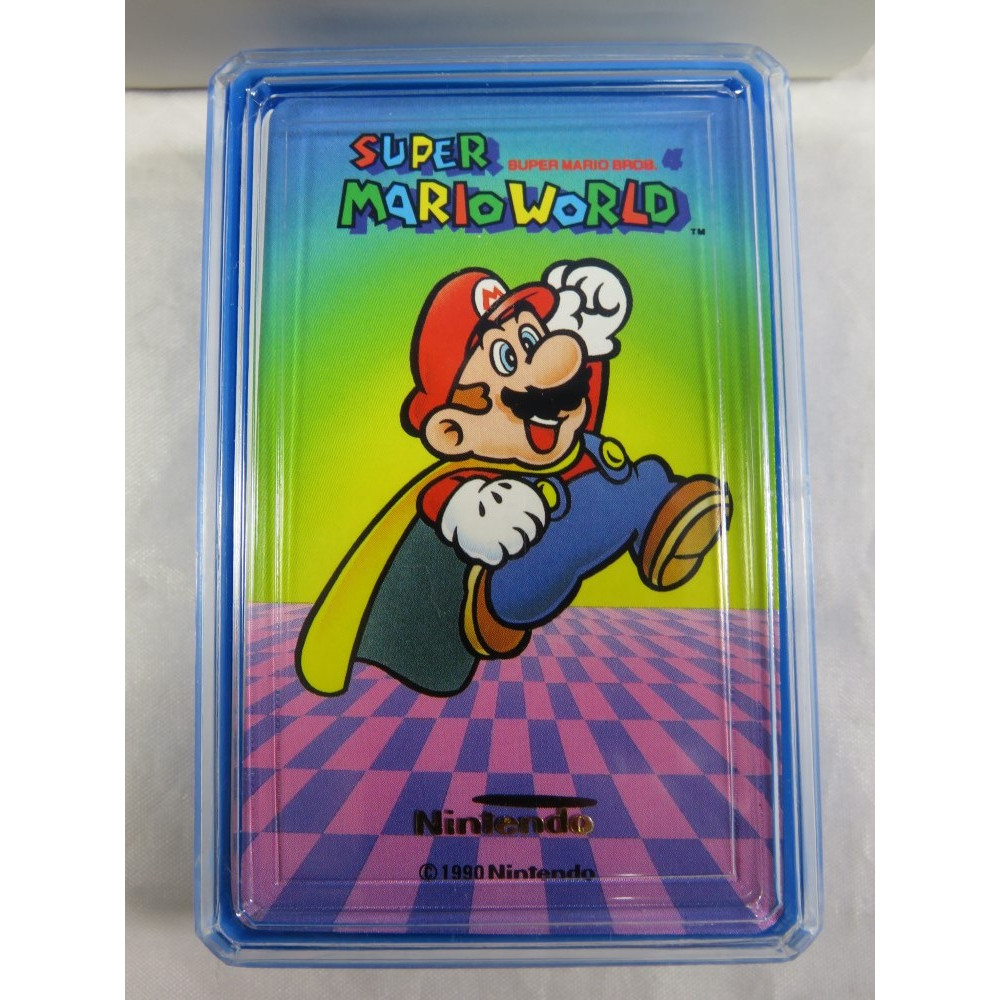 SUPER MARIO WORLD MINI TRUMP (JEU DE CARTES NEUF) JPN NINTENDO 1990 (MW503)