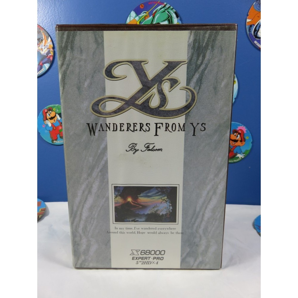 WANDERERS FROM YS X68000 JPN OCCASION