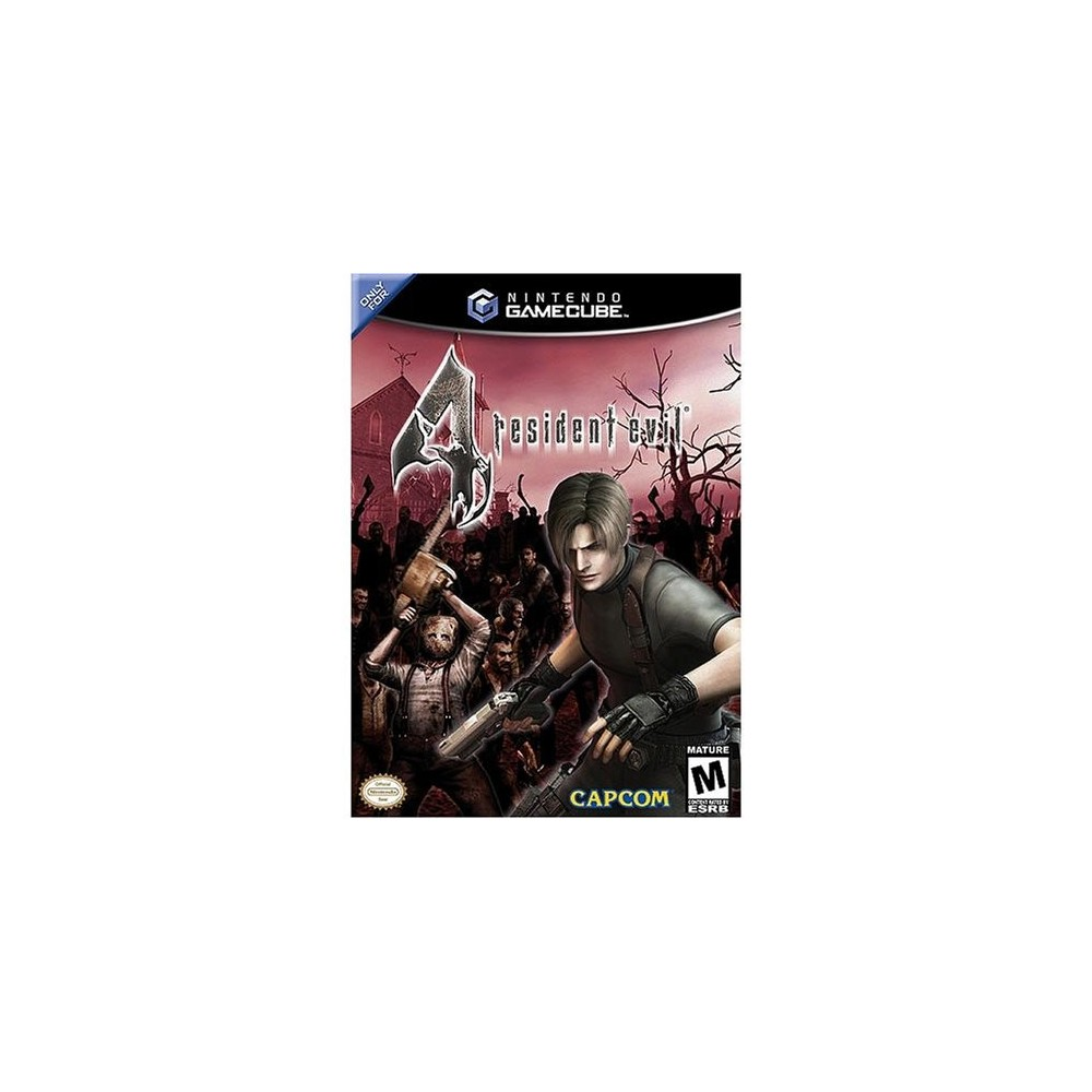 RESIDENT EVIL 4 GAMECUBE NTSC-USA OCCASION