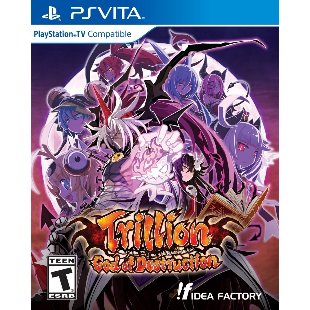 TRILLION GOD OF DESTRUCTION PSVITA US
