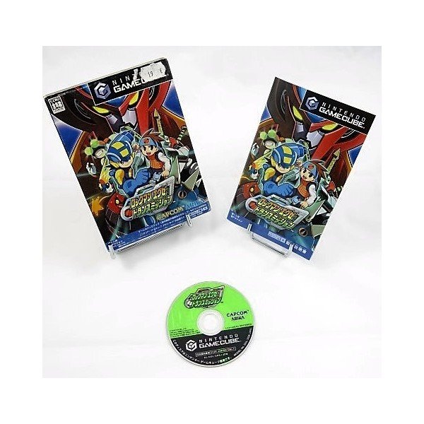 ROCKMAN EXE TRANSMISSION GAMECUBE NTSC-JPN OCCASION