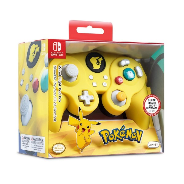 CONTROLLER FILAIRE POKEMON PDP SWITCH FR NEW