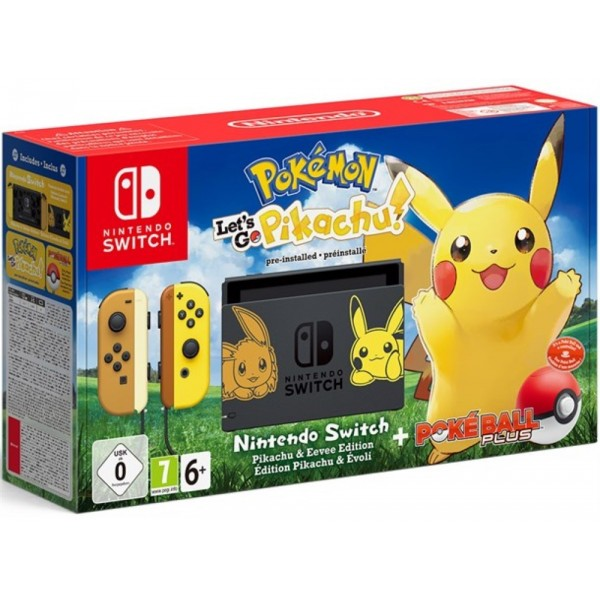 CONSOLE SWITCH POKEMON LET S GO PIKACHU LIMITEE EURO OCCASION