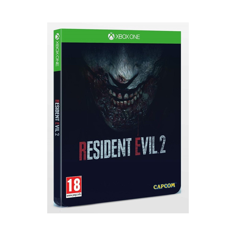 RESIDENT EVIL 2 STEELBOOK XBOX ONE UK OCCASION