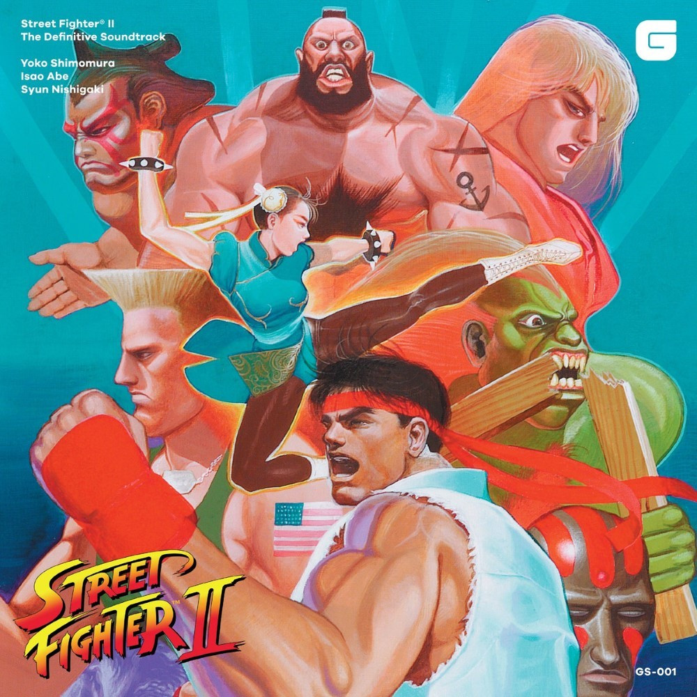 OST STREET FIGHTER II THE DEFINITIVE SOUNDTRACK CD NEW