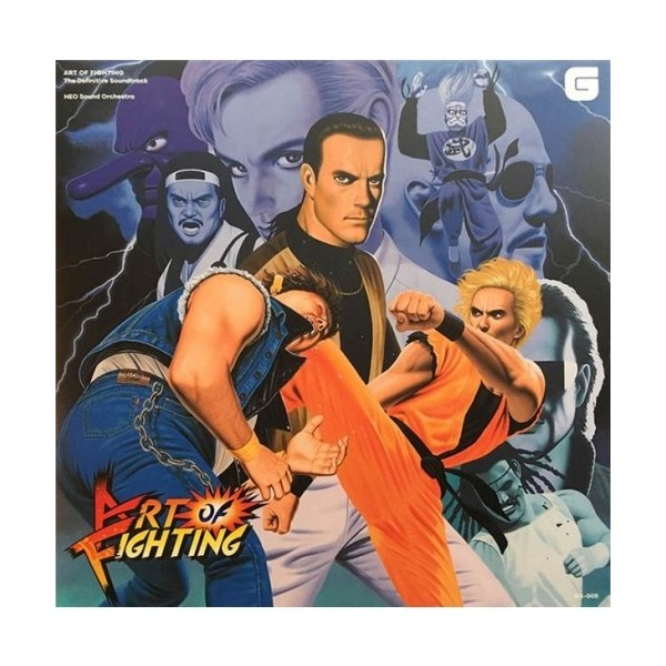 OST ART OF FIGHTING THE DEFINITIVE SOUNDTRACK CD NEW