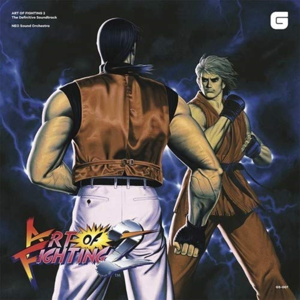 OST ART OF FIGHTING 2 CD NEW